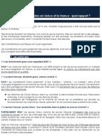 Les émeutes en Grèce et la France - Pôle Etudes des Jeunes de l'UMP - www.jeunesump.fr