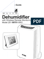 Sears Dehumidifier Manual