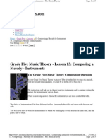 Www.mymusictheory.com Grade5 Lessons 13 Composing a Melody for Instruments.html