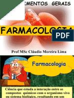 FARMACOLOGIA - INTRODUÇÃO FARMACOLOGIA