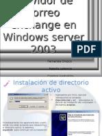 Manual de exchange server2003 enterprise