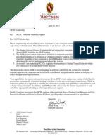 Chancellor Ward's letter to MCSC