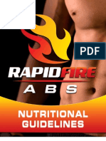 Rapid Fire Abs Nutrition