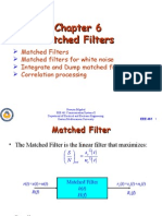 EEE461Lect11(Matched Filters)