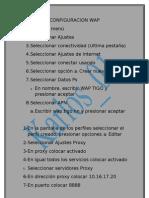 Configuraciones Tigo Honduras