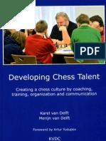 Developing Chess Talent - Van Delft Karel & Merijn