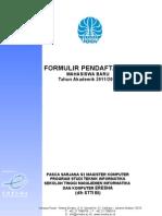 Formulir Pendaftaran S2 STMIK ERESHA (1)