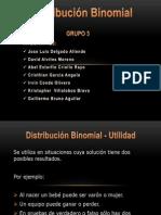 Distribución Binomial - Grupo 3