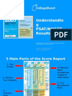 Understanding Results From 2007 PSAT-NMSQT