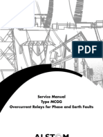 GEC Alstrom (MiDOS) - Type MCGG - Overcurrent Relays for Phase and Earth Faults - Service Manual - New From Web - 1998