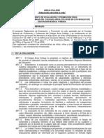 Reglamento Evaluacion y Promocion Ac_2010