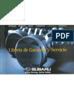 Libreta de Mantenciones Subaru