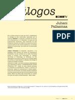 Conversaciones Juhani Pallasmaa