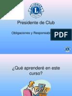 3.- CURSO PRESIDENTES