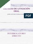 Tecnicas de Litigacion Oral