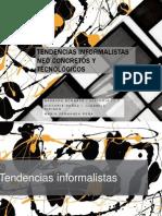 Tendencias Informalistas, Neoconcretas y Tecnológicas