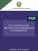 protocolos podologia
