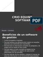 CRIO Equine Software GENERAL