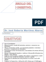 17. Desarrollo Del Tubo Digestivo Celoma y Mesenterio