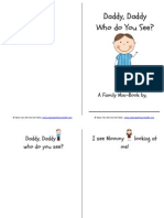Daddy Who Do You See Book PDF