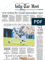 The Daily Tar Heel for April 16, 2012