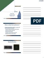 Introduction to Radar Warning Receiver