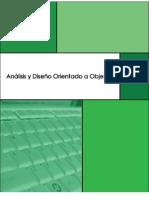 Manual Análisis y Diseño Orientado a Objeto versión 1.0