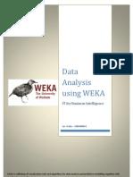 Data Analysis Using WEKA - 10BM60043