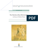 Machiavellian Reformation - An Essay in Political Theory