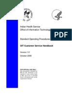 Customer Service Handbook 03-13