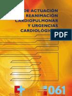 Guia de Actuacion en Reanimacion Cardiopulmonar y Urgencias Cardiologicas