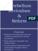Antebellum Reformers