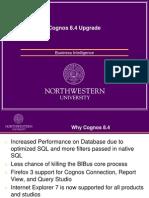 Cognos 8.4 Upgrade