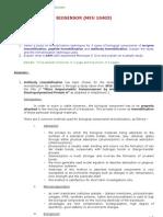 Assignment 1 Biosensor (Antibody Immobilization & SAMs Principle)