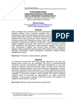 Paradigma Barupemasaran Produk Pertanian Berbasis Agribisnis Di Daerah Riau