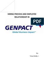 Hiring Process and Employee Relationship In