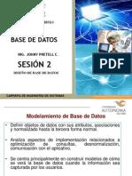 02 sesion Diseño de Base de Datos