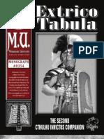 0354 - Extrico Tabula - The Second Cthulhu Invictus Companion