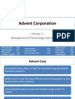 MTI Advent Corporation