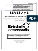 Compresores Bristol Intrucciones de Instalacion