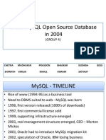 MTI MySQL Open Source Database in 2004