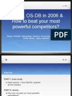 MTI MySQL How to Beat Your Most Powerful Competition
