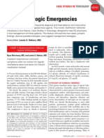Two Toxicologic Emergencies