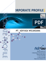 Corporate Profile Adiyasa 2011