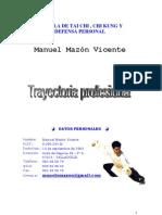 Trayectoria Profesional del Maestro Manuel Mazon