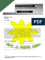 IJNI Copyright Agreement