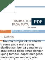 PP Trauma Tumpul Okuli