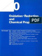 Chapter 10 Oxidation-Reduction and Chemical Properties