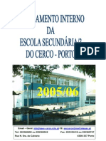 Regulamento Escola