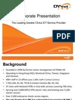 DYXnet Corporate Presentation_HK Full Version_16 Sep 2011